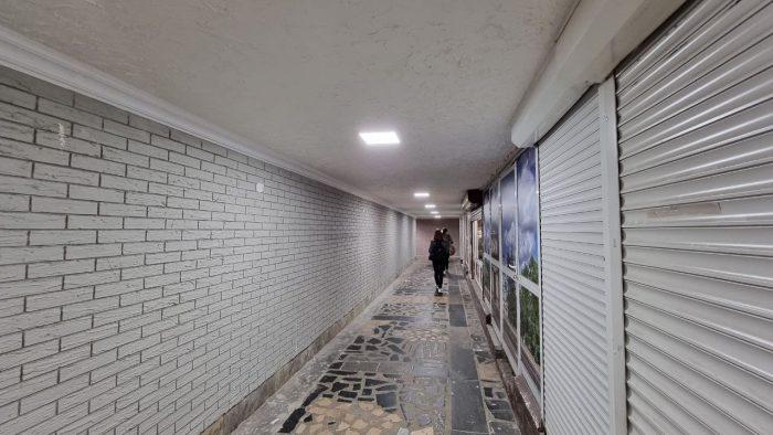 На Рышкановке скоро полностью преобразится ещё один подземный переход: его ремонт идёт полным ходом