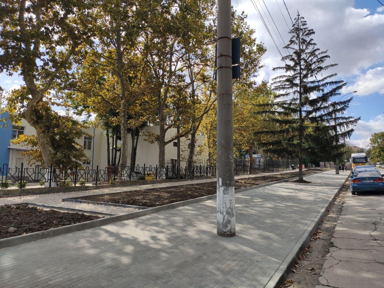 Улицу Теилор на Ботанике отремонтируют целиком. Чебан: Сегодня она в удручающем состоянии