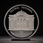 Нацбанк выпустил юбилейную монету, посвящённую 100-летию театра имени Михая Эминеску