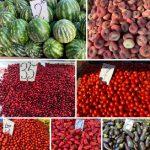 """Сезон овощей и фруктов: почём сегодня """"витамины"""" на Центральном рынке (ФОТО)"""