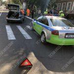 """Невнимательный водитель сбил женщину на """"зебре"""" в Тирасполе"""
