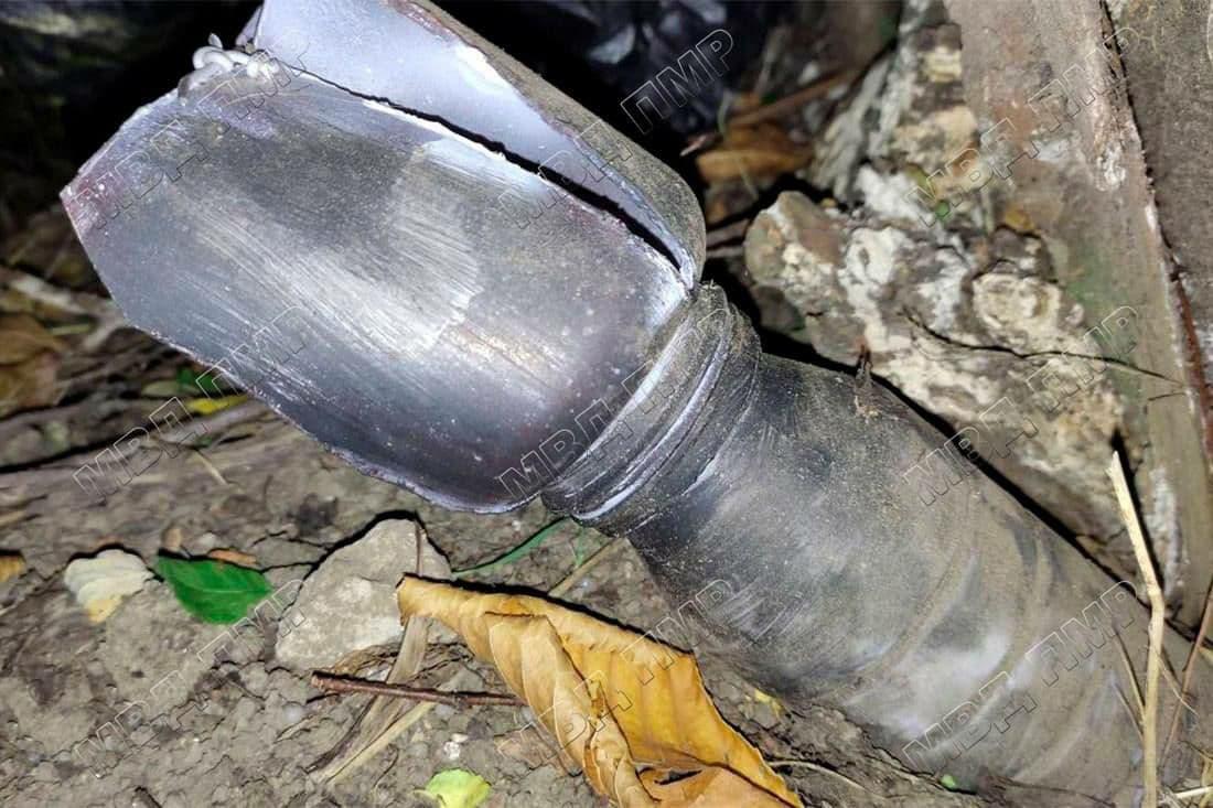 Вблизи жилого дома в Бендерах нашли самодельное взрывное устройство