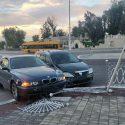 На площади в Тирасполе произошло ДТП с участием машины такси