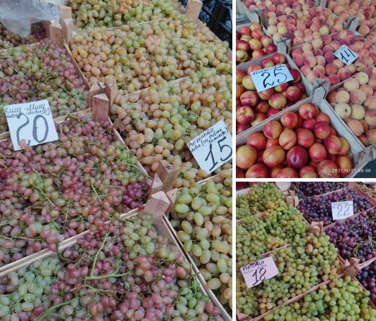 """Фрукты и овощи нарасхват: почём """"витамины"""" на Центральном рынке (ФОТО)"""