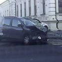 Два автовладельца не смогли поделить перекрёсток