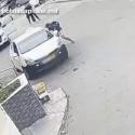Рецидивист украл телефон через открытое окно автомобиля (ВИДЕО)
