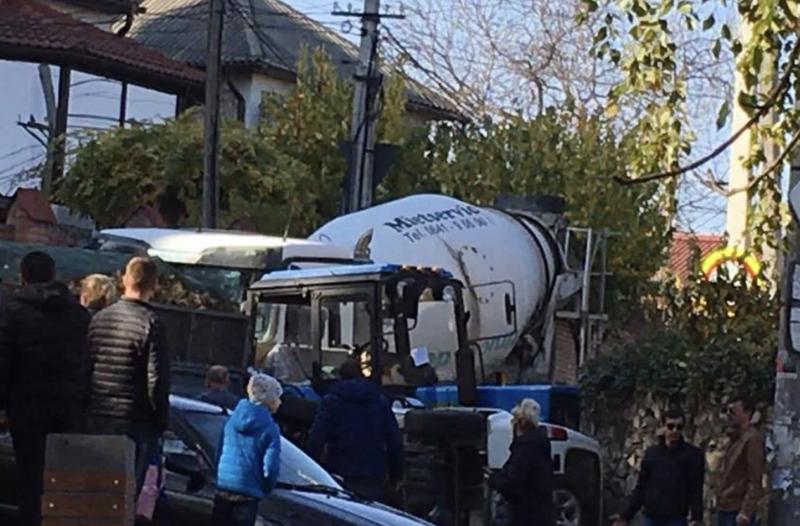 ДТП в столице: столкнулись Suzuki и трактор