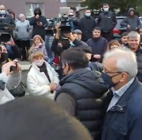 """""""Вся Молдова – с вами!"""": Стояногло встретили бурными аплодисментами (ВИДЕО)"""