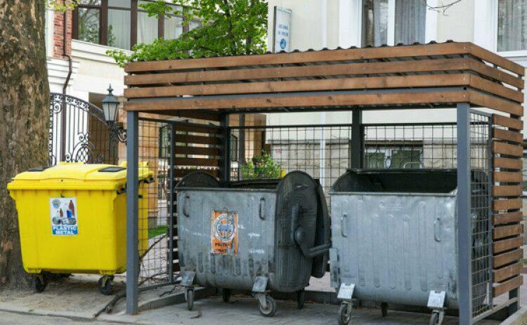 Десятки модульных площадок для сбора отходов установят во дворах столичных многоэтажек