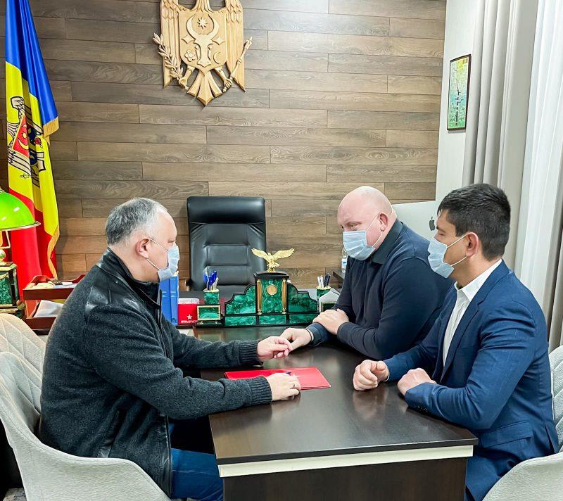 Игорь Додон обсудил с депутатом НСГ ситуацию в Гагаузии после выборов