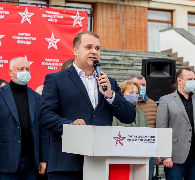 Нестеровский: Мы должны вернуть страну. Выиграем в Бельцах – выиграем в Молдове! (ВИДЕО)