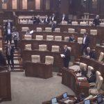 Депутаты Блока коммунистов и социалистов покинули заседание парламента в знак протеста