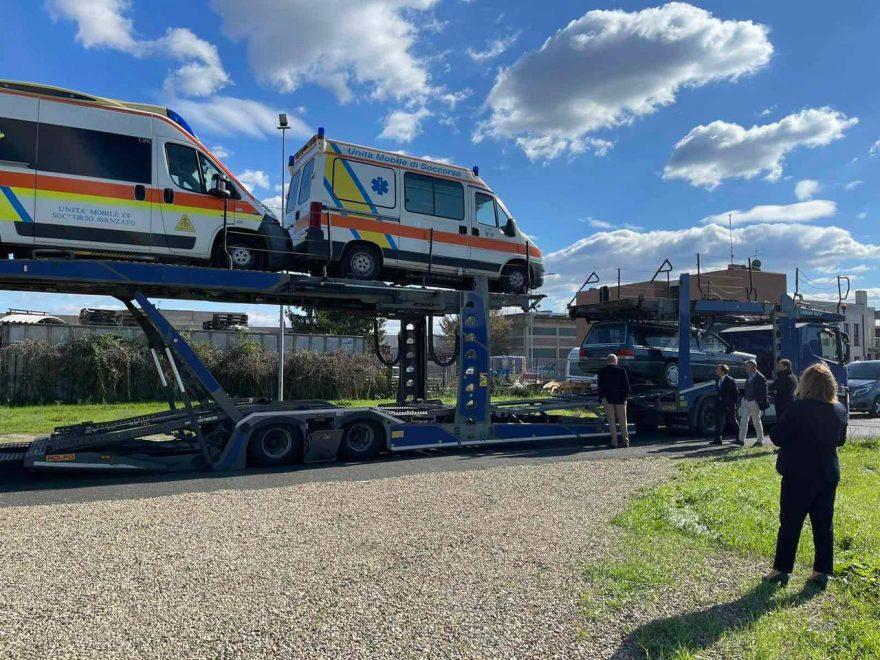 Примария Кишинёва получила в дар машины скорой помощи от благотворительных ассоциаций из Италии