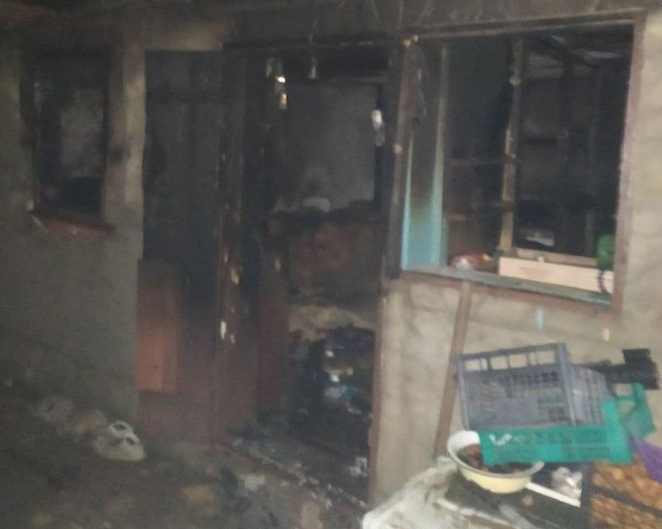 Два человека пострадали в результате пожара в Рыбнице