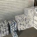 Контрабанда на границе: водитель грузовика намеревался вывезти из страны тысячи пачек сигарет (ФОТО, ВИДЕО)